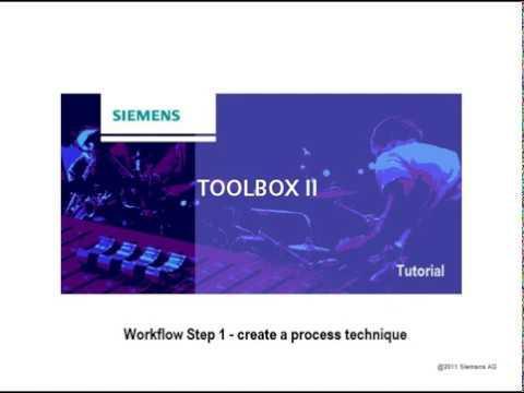 Download SICAM TBII Tutorial Workflow Step 01 Process Technique