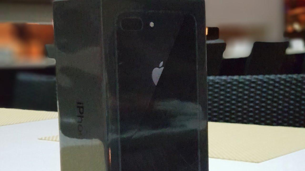 iPhone 8 Plus 256GB Black, First Raw Unboxing in UAE/Dubai
