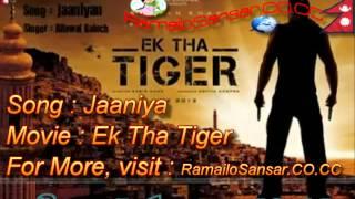 EK THA TIGER- Jaaniya Full Song HD/HQ 1080P