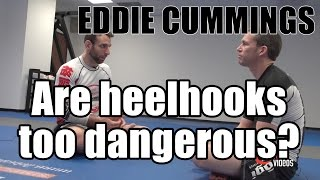 Eddie Cummings are heelhooks too dangerous - 2 of 4