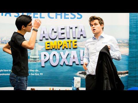 Isso é xadrez? Giri ofereceu empate ao Carlsen no lance 4?