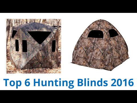 6 Best Hunting Blinds 2015