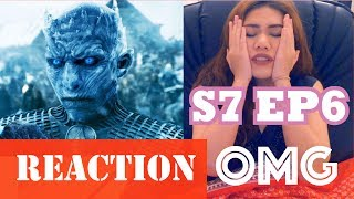 "Game of Thrones S7 EP6, Reaction Video  ""BEYOND THE WALL"""