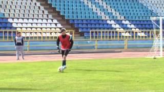 Сюжет НБФ о тренировке на стадионе