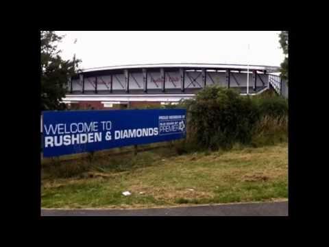 The Abandoned Football Stadium UK Episode 3 - Nene Park, Kettering Town and Rushden & Diamonds