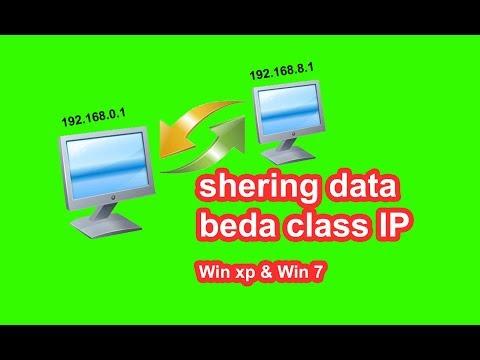 Sharing File/Data Menggunakan Wireless Antar Laptop.