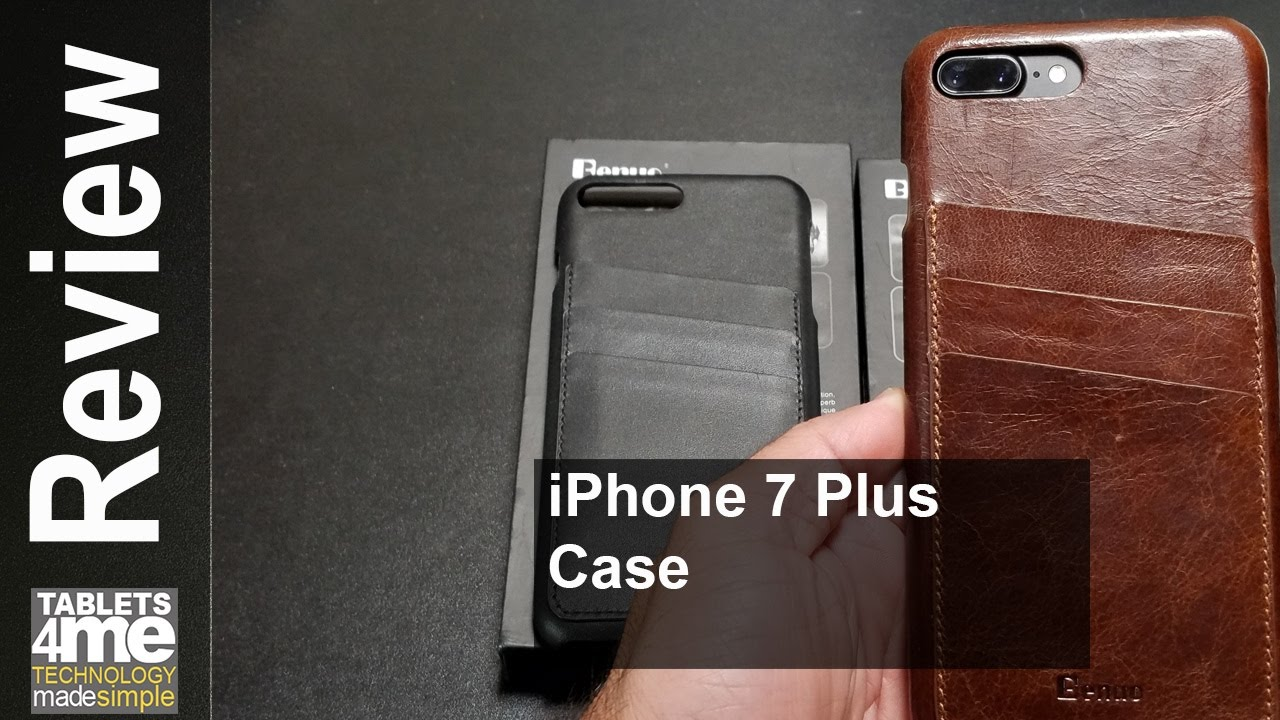 sale retailer ae706 deb1c iPhone 7 Plus Case with Credit Card Slots from Benuo
