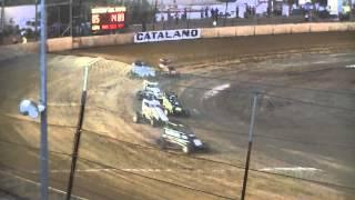 Alfie Guadagnino Speedcar Crash, Bunbury Speedway 9/11/13 thumbnail