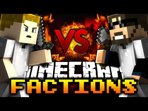 Minecraft: THE BATTLE BEGINS   Factions VS SSundee - Ep: 01
