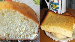 Бисквит на сгущенном молоке. Нежный, молочный, бабушкин :)