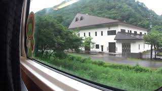 JR大糸線 リゾートビューふるさと車窓 南小谷➔白馬