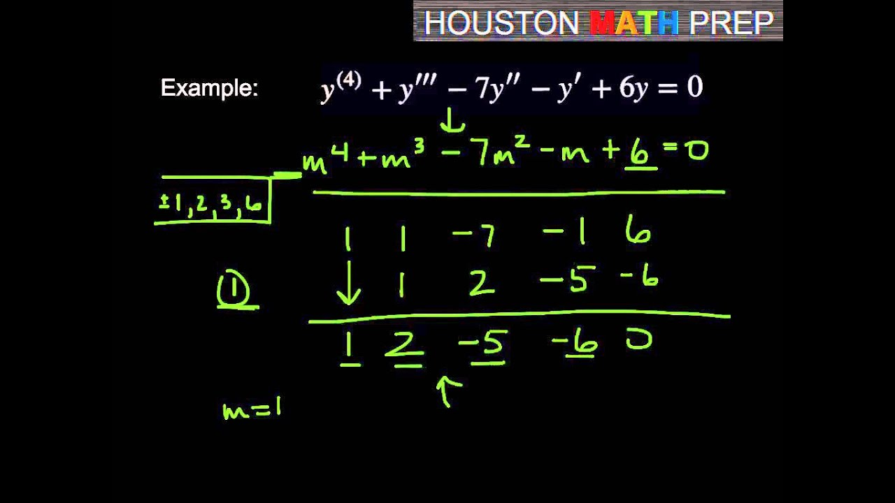 Solve second order differential equations step-by-step