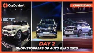 Hyundai Creta 2020, Tata HBX, Kia Sonet & more | Best SUVs at Auto Expo 2020: Day 2