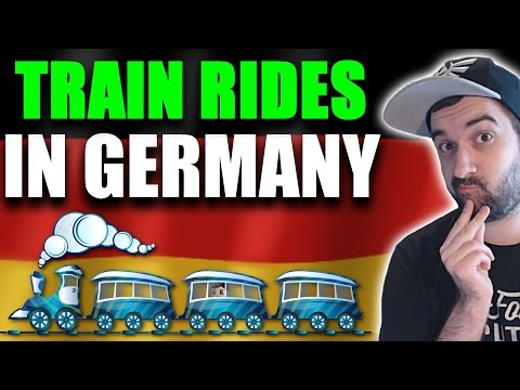 German TRAIN TRAVEL VOCABULARY You Should Know! - German Lesson | VlogDave