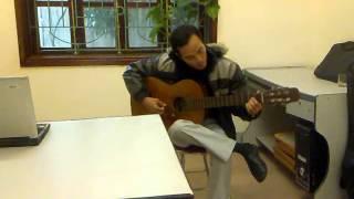 Bài thánh ca buồn - Toản guitar