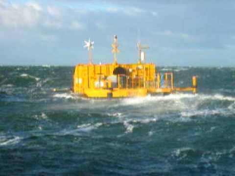 OE Bouy in operation