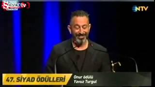 Cem Yılmaz ve Gonca Vuslateri - SİYAD Ödül Gecesi