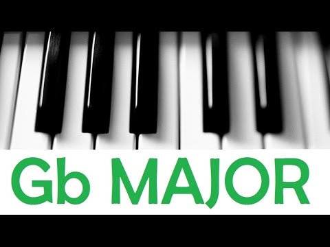 Gb Major Scale Chords All Scales Chords Tutorial 8 Youtube