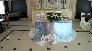 Свадебное оформление. Оформление стола молодоженов. Вариант оформления свадьбы