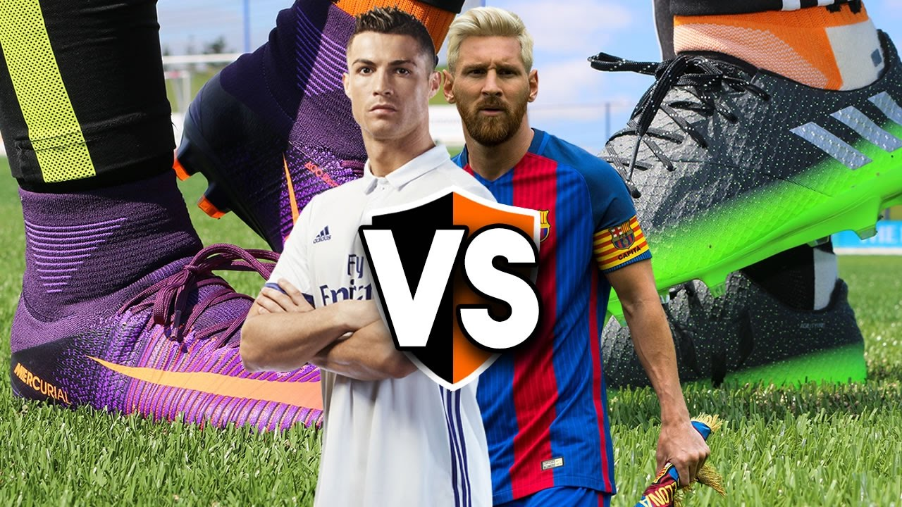 Ronaldo vs Messi Boot Battle - Nike CR7 Superfly v adidas Messi 16.1 -  YouTube