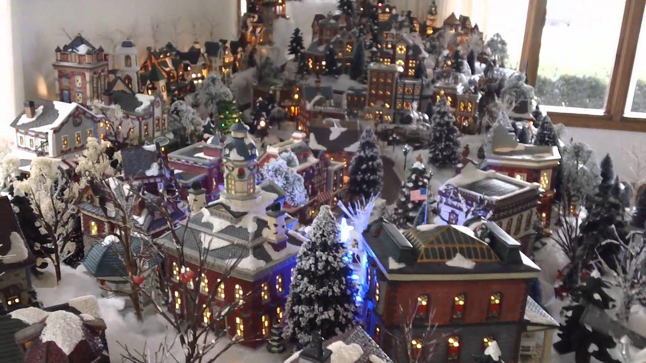 Awesome Lemont Christmas Village 2011 - YouTube