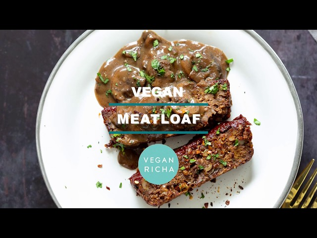 VEGAN MEATLOAF – NUT LOAF- Gluten Free Option, No Bean Loaf | Vegan Richa Recipes