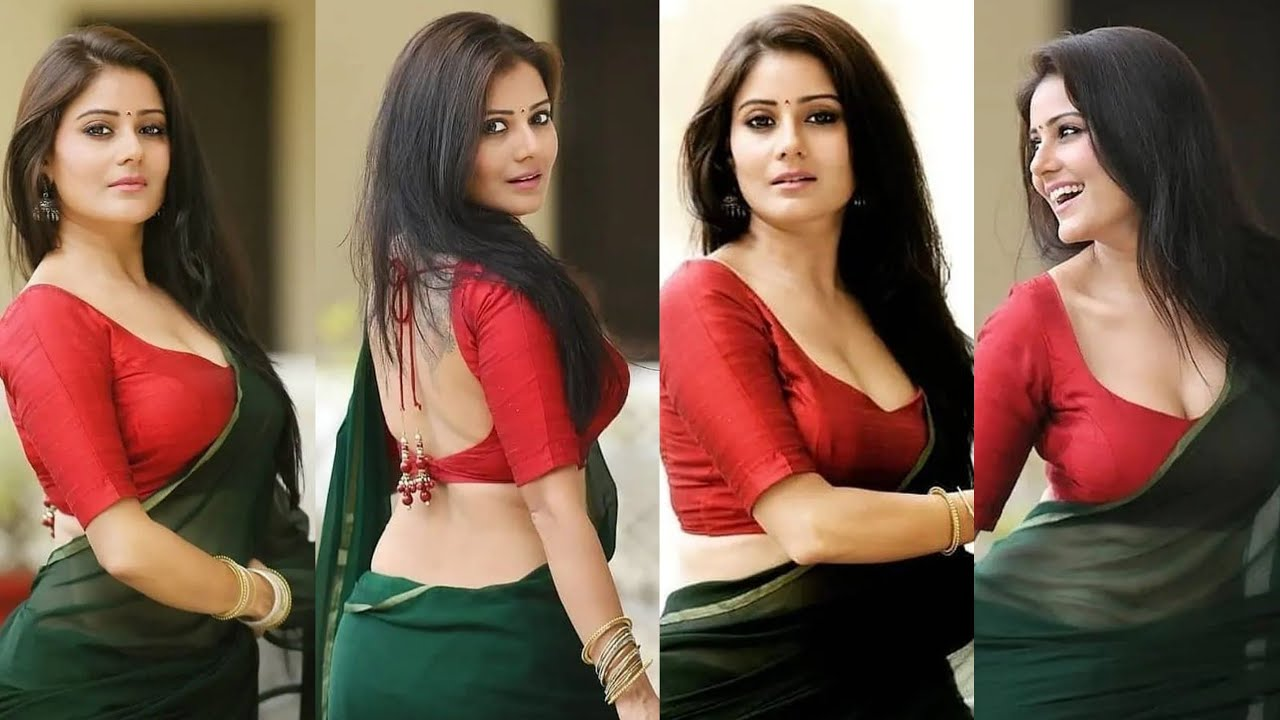 Download Desi hot actresses in sexy saree look | Milky navels exposed