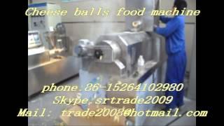 Cheese ball snacks food machine/corn snacks extruder line (trade2008@hotmail.com)