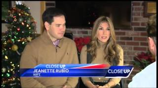 Marco And Jeanette Talk Christmas, Family, And Football With WMUR In NH | Marco Rubio for President