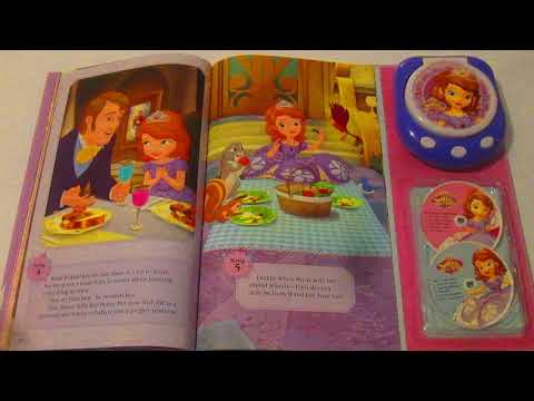 "SOFIA the First Music Player Storybook ""A Proper Princess"" INTERACTIVE"