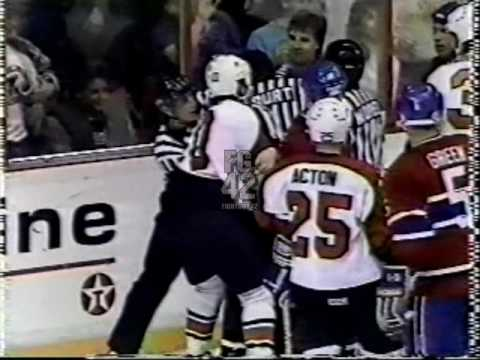Canadiens Fights 88-89