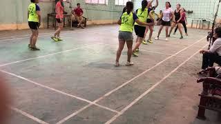 bóng chuyền hơi nữ Sơn Tây vs La Phù