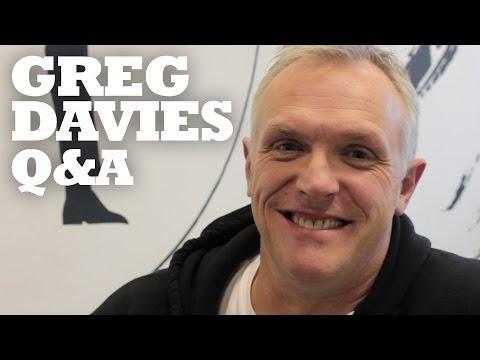Greg Davies 140 second Twitter Q&A