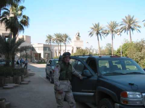 First days in the Presidential Palace in the Green Zone April 2003 OIF