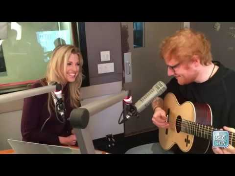 "Ed Sheeran Sings ""Friends"" Theme Song On The Bert Show"