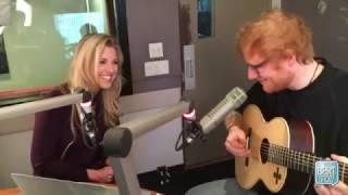"Ed Sheeran Sings ""Friends"" Theme Song On The Bert Show"