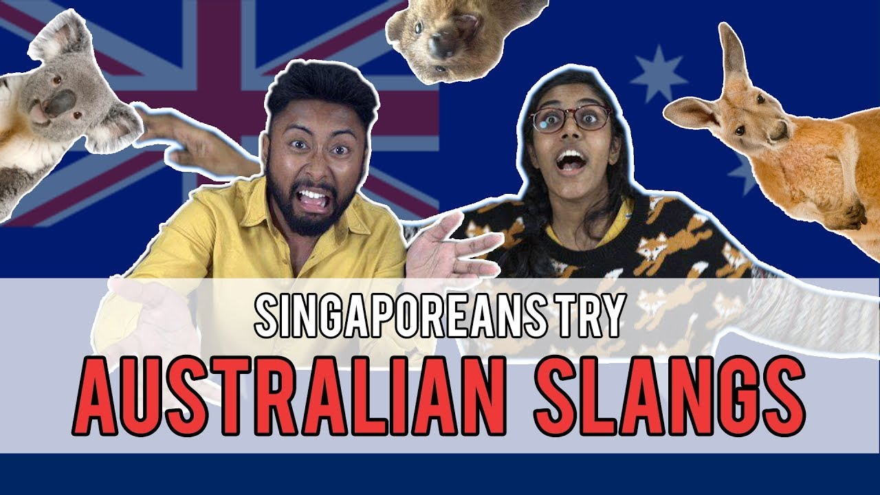 Singaporeans Try: Australian Slangs