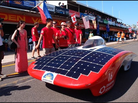 Trailer Stanford Solar Car Project Racing On Sunshine