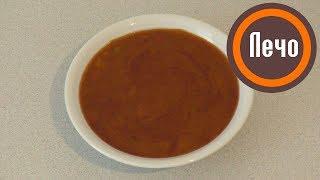 «Лечо» из перца с томатным соусом