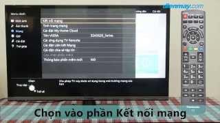 Hướng dẫn Kết nối mạng trên Tivi Panasonic TH-32AS620V | Điện máy XANH