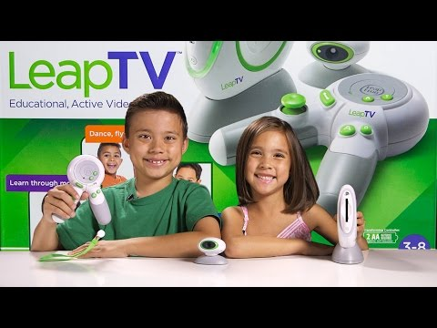 LeapTV From Leapfrog - Educational Active Video Game System For Kids