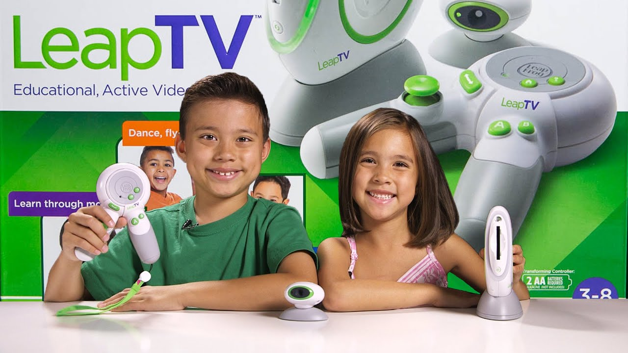 LeapTV from Leapfrog Educational Active Video Game System for