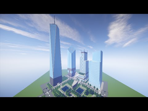 Minecraft Timelapse - World Trade Center - Part 6