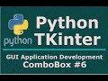 6 TKinter Python Combobox