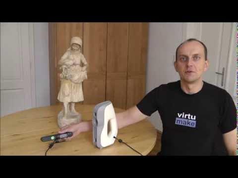 3D Scan - Professional vs Hobby - Artec Eva, Carmine 1.09