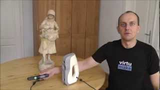 3D Scan - Professional vs Hobby - Artec Eva, Carmine 1.09(I always wanted to know, how much better a professional 3D scanner is, compared to my cool Carmine 1.09. You can use the 3D scanning Software Artec Studio ..., 2013-08-29T12:54:39.000Z)