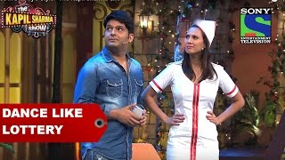 Dance like Lottery - The Kapil Sharma Show(Watch Comedy King Kapil Sharma trying his best to impress Lottery but each time he is interrupted by Dr. Gulati and Chandu! But finally the hilarious comedians ..., 2016-07-13T12:00:44.000Z)