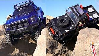 RC ADVENTURES - Tips & Tricks - Crawlers: Heavy Truck Vs Light Truck - Hard Body vs Lexan Body