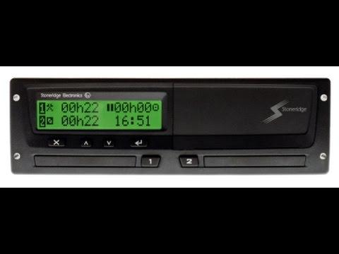 stoneridge digital tachograph manual entry youtube rh youtube com DVLA Digital Tachograph Card Lost DVLA Digital Tachograph Card Company