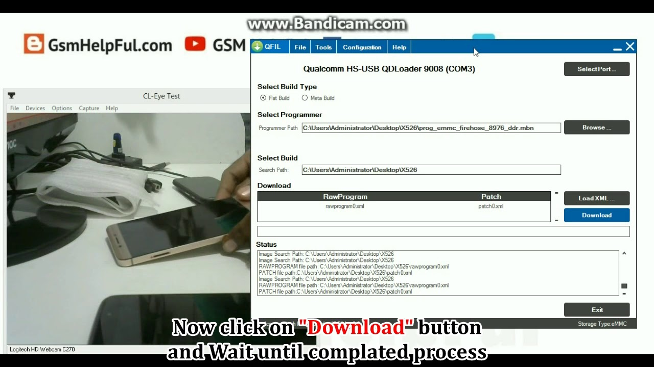 How to Flash Letv Le 2 X526 with QFIL Flash tool Stock ROM Firmware